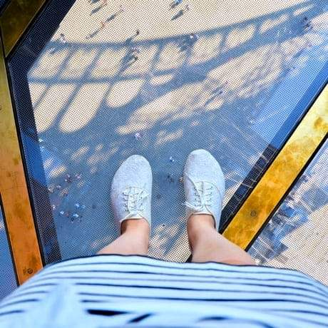 Eiffel Tower Glass Floor