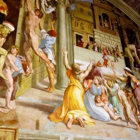 Raphael Rooms in St Peter's Basilica