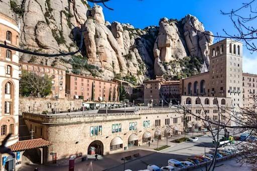 Montserrat monastery in Catalonia, Spain