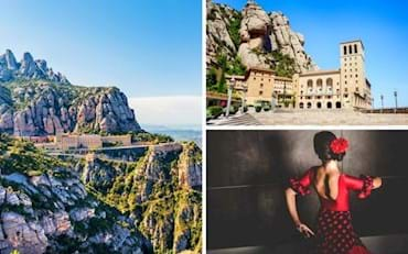 Montserrat Monastery tour with flamenco show
