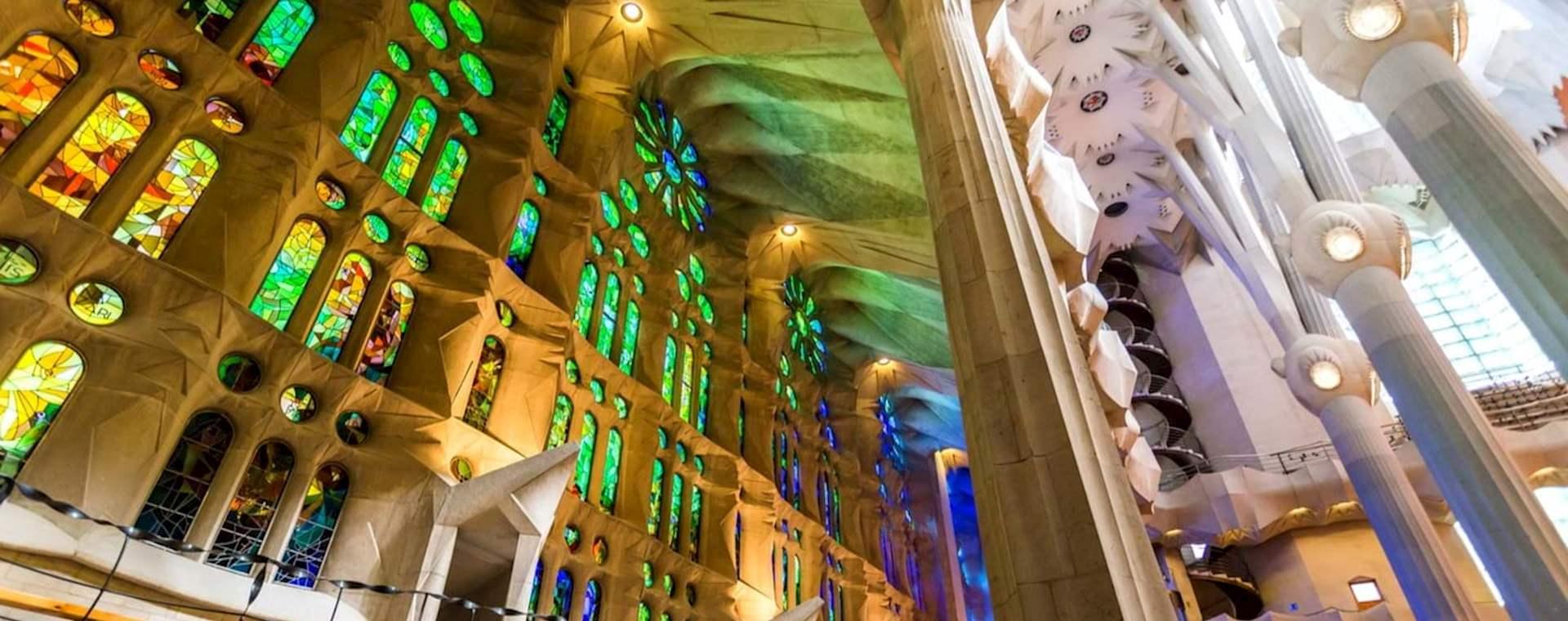 Sagrada Família Express with Flamenco Show