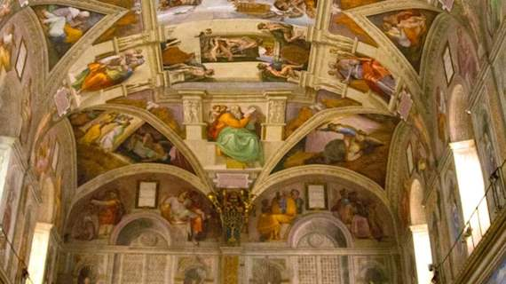 sistine chapel altar the last judgement