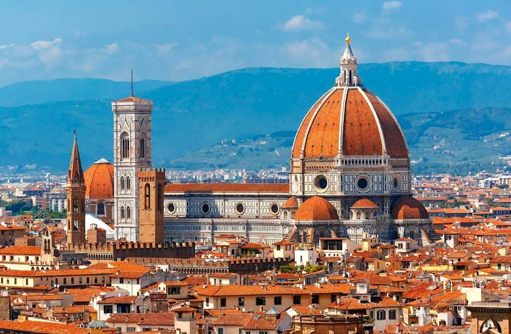 Florence Cathedral Panorama