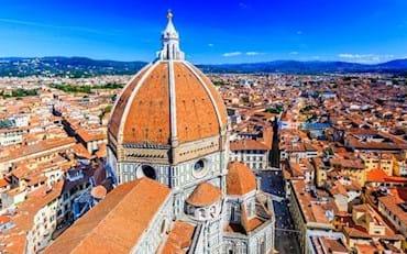 Duomo exterior with blue sky