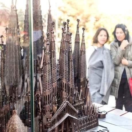 Prototype of La Sagrada Familia when works are finished