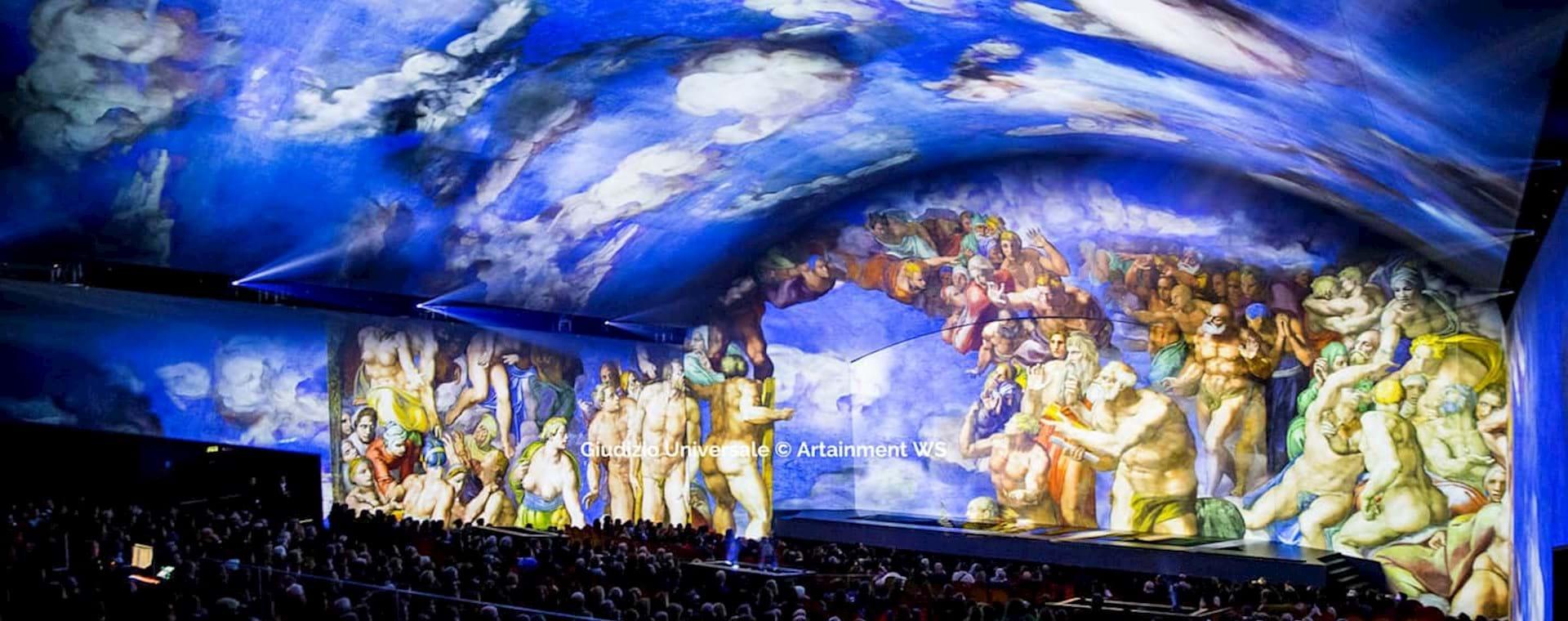 Espectáculo en directo: El Juicio Final de Miguel Ángel