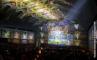 Last Judgment Show about Michelangelo's main masterpiece in Rome
