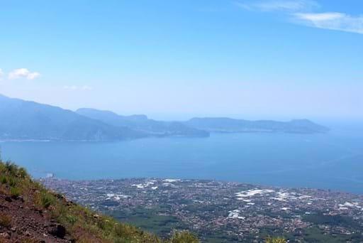 Bay of Naples from Mt. Vesuvius