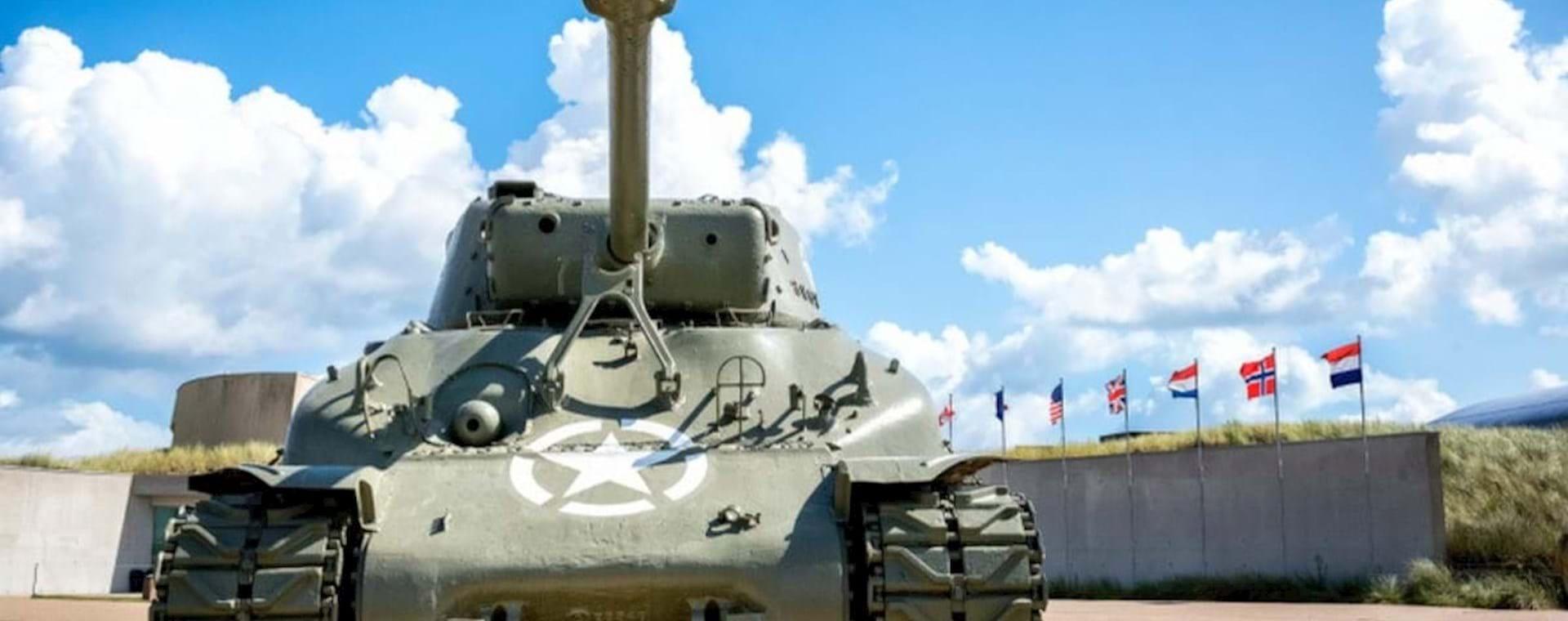 Memorial tank, Normandy