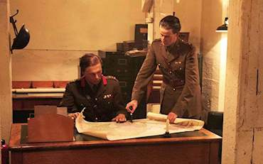 Mannequins at Churchill War Rooms in London