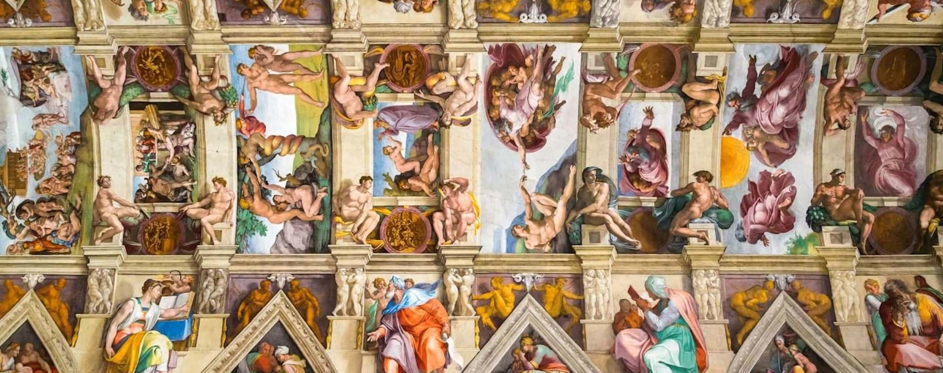 Exclusive First Entry: Sistine Chapel Express, St. Peter's Basilica & Vatican Crypts Tour