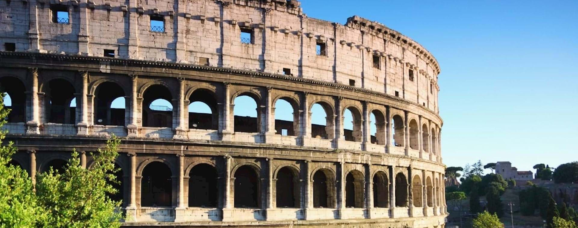Express Colosseum Tour with Gladiator's Entrance & Arena Floor