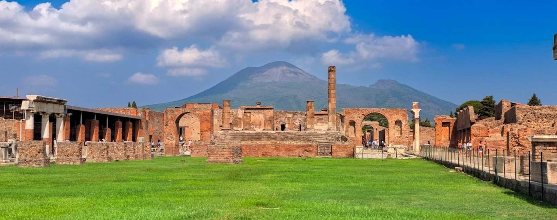 Pompeii & Mount Vesuvius from Sorrento