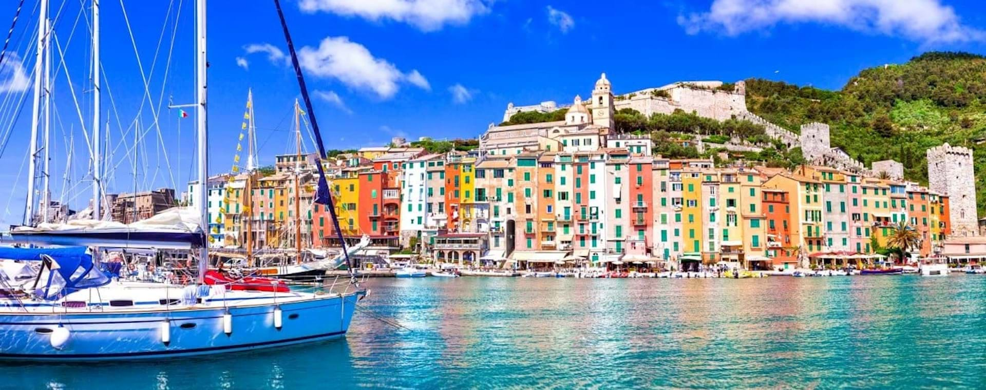 Guided Day Trip: Cinque Terre & Portovenere from Florence