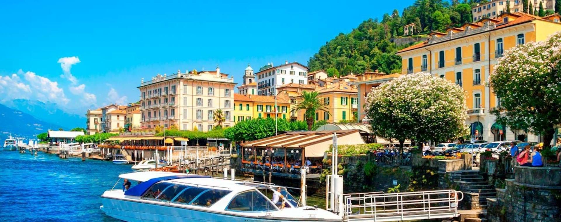 Guided Day Trip: Lake Como, Bellagio & Lugano Switzerland from Milan