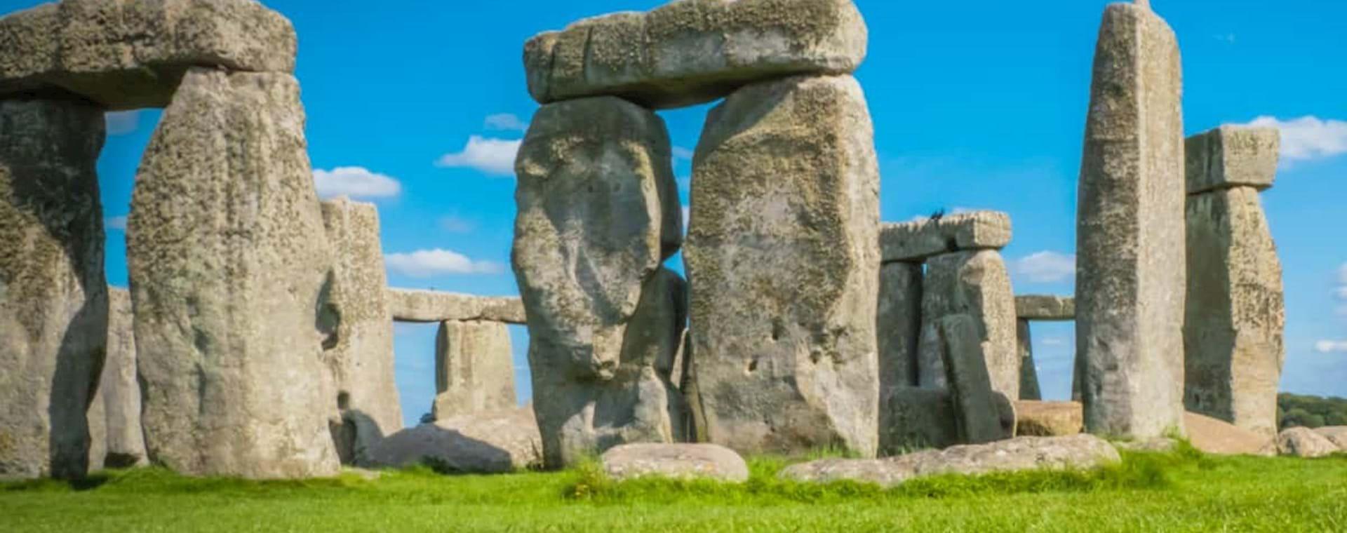 Iconic stones at Stonehenge, England