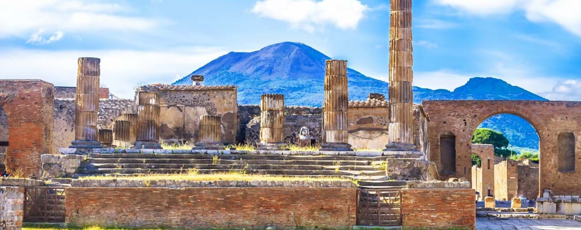 Guided Day Trip: Pompeii & Mt. Vesuvius Volcano from Rome