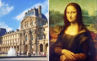 Los Famosos museos del Louvre y la Mona Lisa