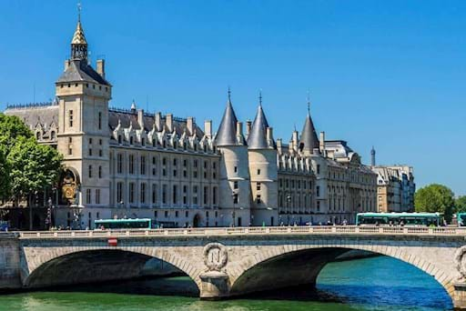 The Conciergerie in Île de la Cité in Paris