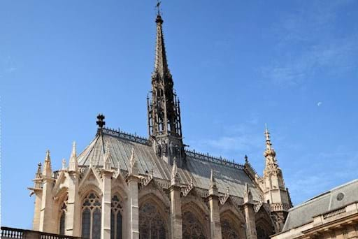 Exterior of Sainte Chapelle