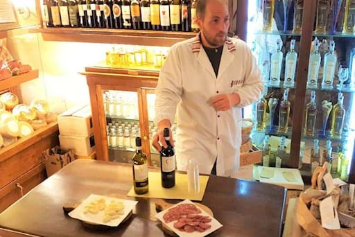 Wine and Salami Tasting in San Gimignano