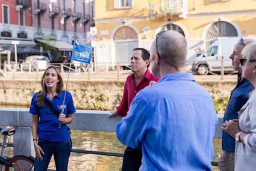 Guided tour along the Milan's canal
