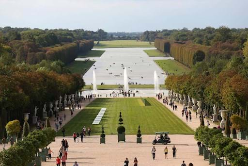 Vire of the Gardens of the Versailles Palace