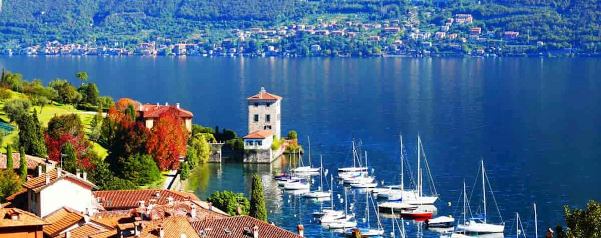 Stunning view of the Como Lake