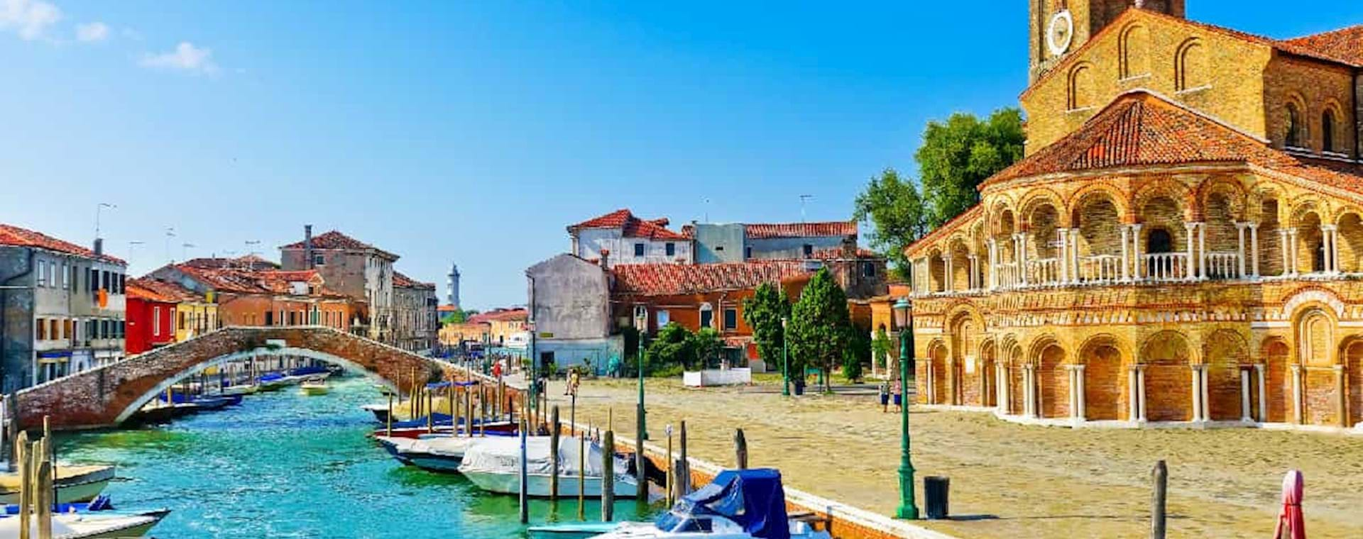 Stunning view of the canal in Murano