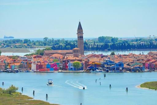 Beautiful view of torcello island
