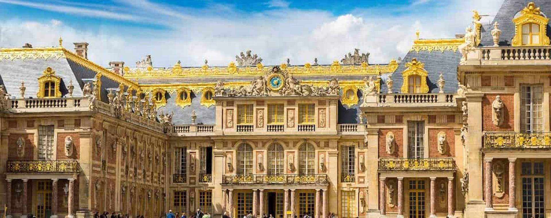 Beautiful view of the Versailles Palace