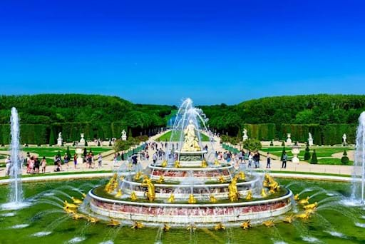 Fountain Show in Versailles