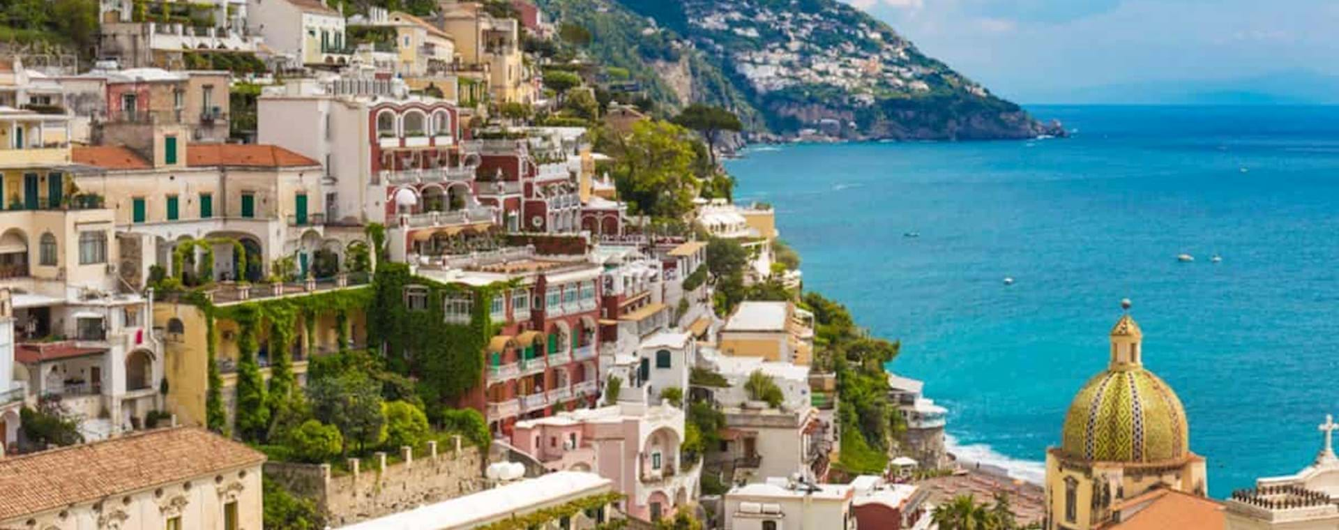 beautiful view of Positano