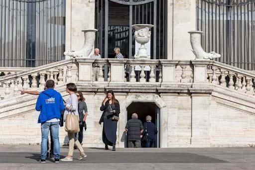 Entrance of Villa Borghese