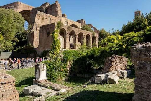 Ruins around the Roman Forum