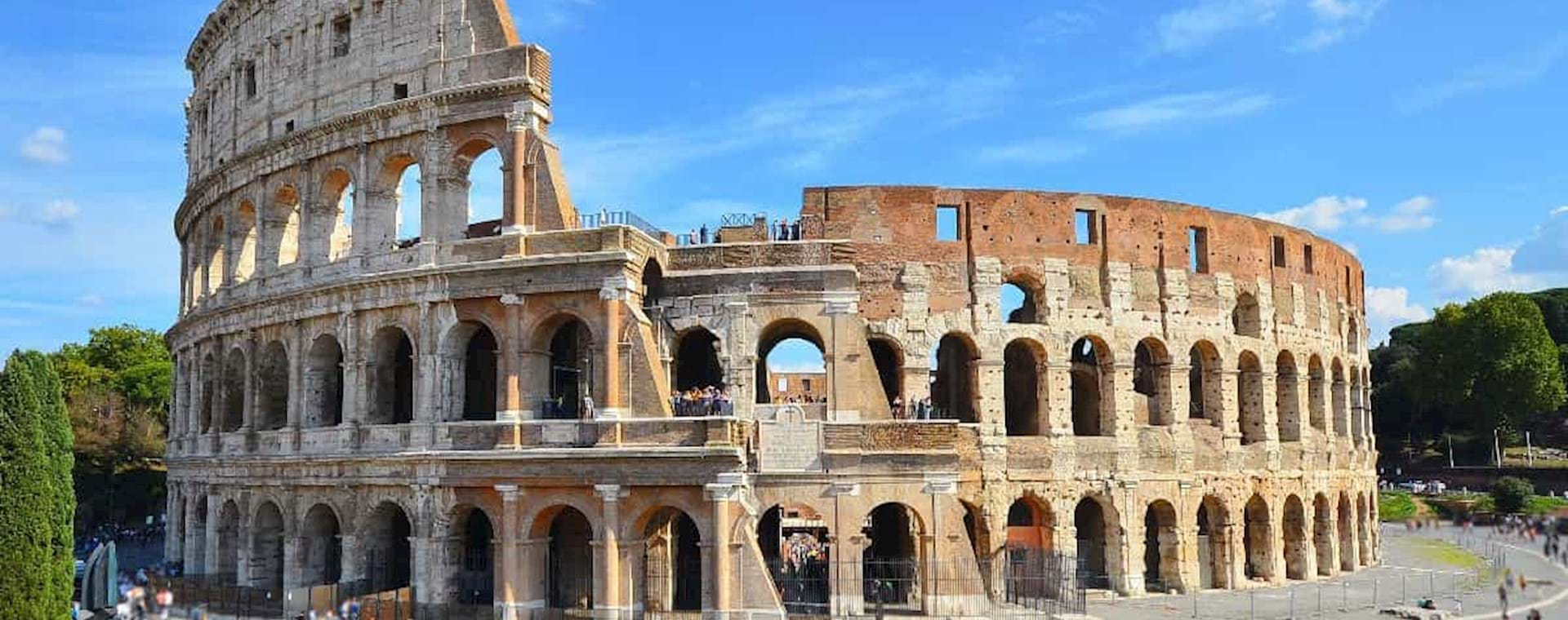 Beautiful view of the Colosseum