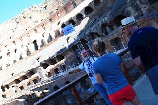 Private Guided tour of the Colosseum