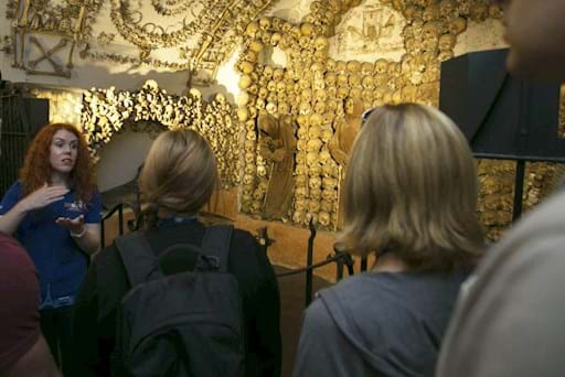 guided tour of the Capuchin crypts in Rome