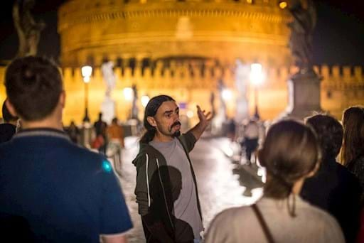 Guided walking tour of Rome by Night