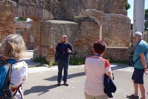 Guided tour of the Ancent Ostia
