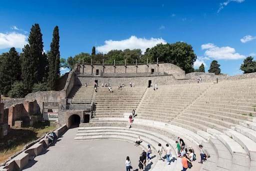 Anphitheatre in Pompeii