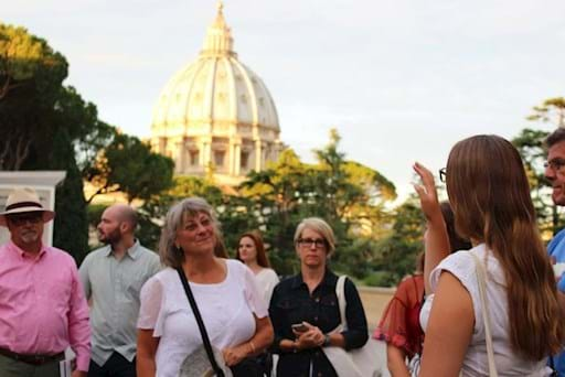 Guided walking tour of the Vatican early morning