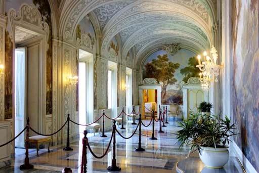 Interiors of Castel Gandolfo