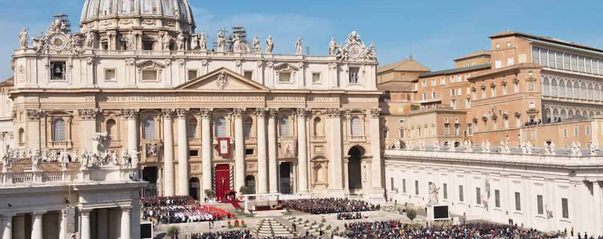 St Peter Square during Papal Audience