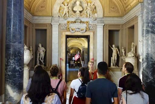 Early entrance at the Vatican Museums