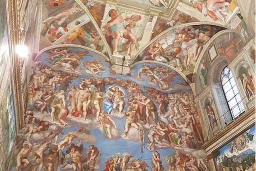 look up of the last judgment