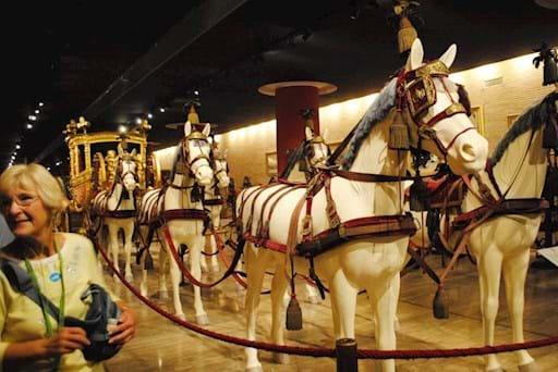 horses in the Vatican