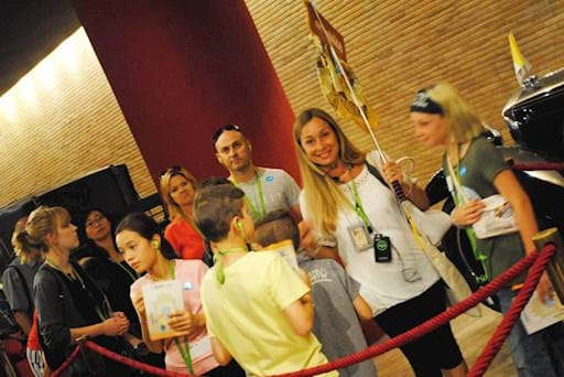 Guided tour of the Vatican for Kids