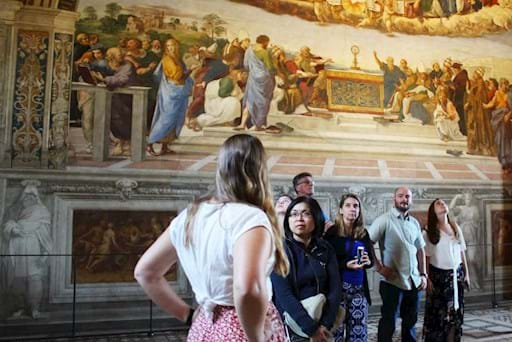Private guided tour of the vatican museums