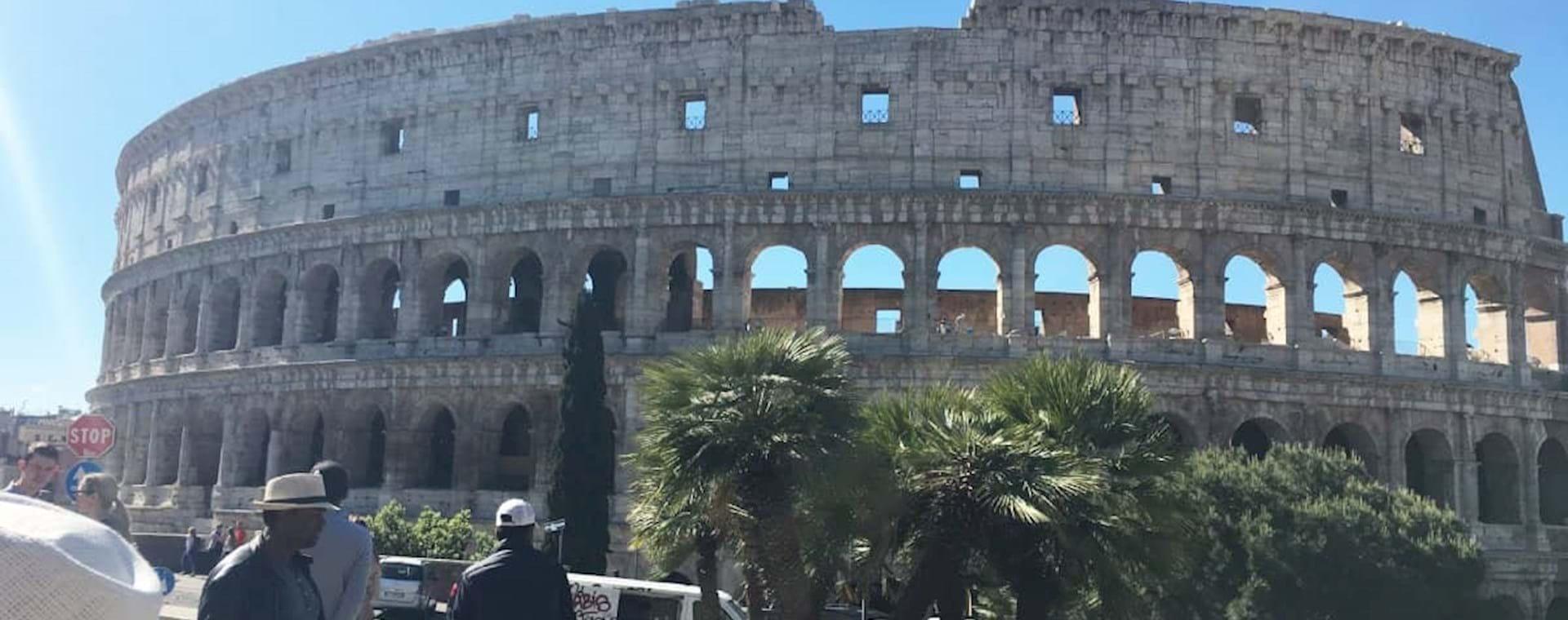 Colosseum View from Largo Gaetana Agnese